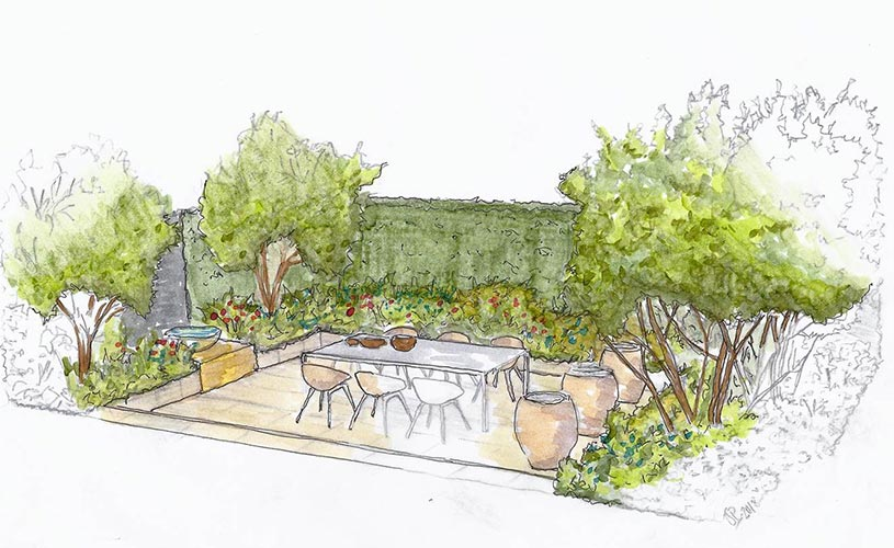 Plans at Ascot Spring Garden Show: Joe Perkins