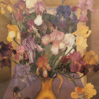 cedric morris poster of iris seedlings