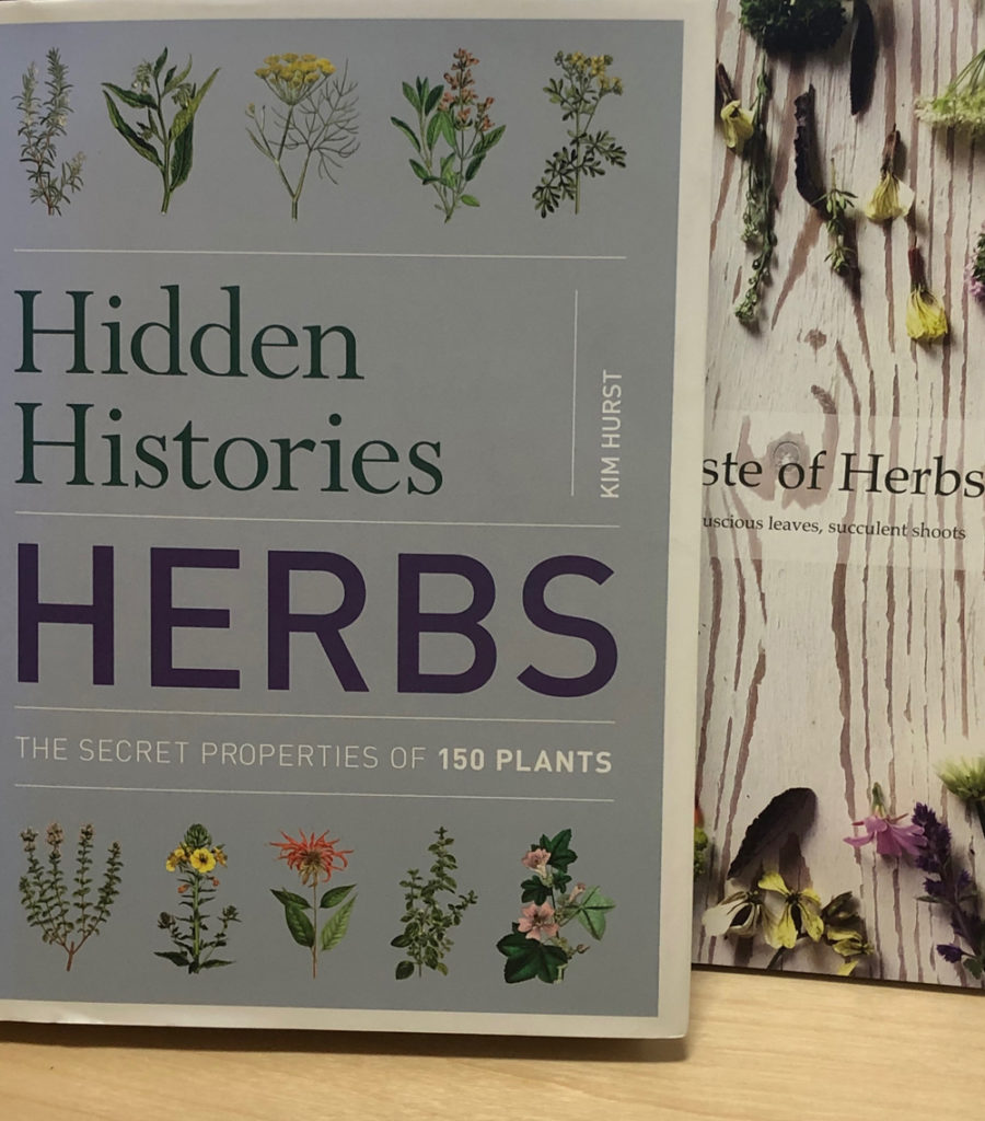 Books about herbs by Kim Hurst