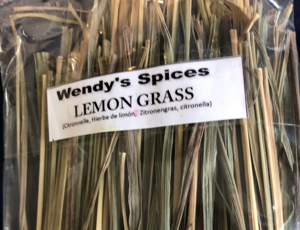 lemon grass grown on Grenada