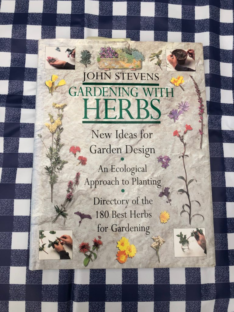 book cover Gardening with herbs