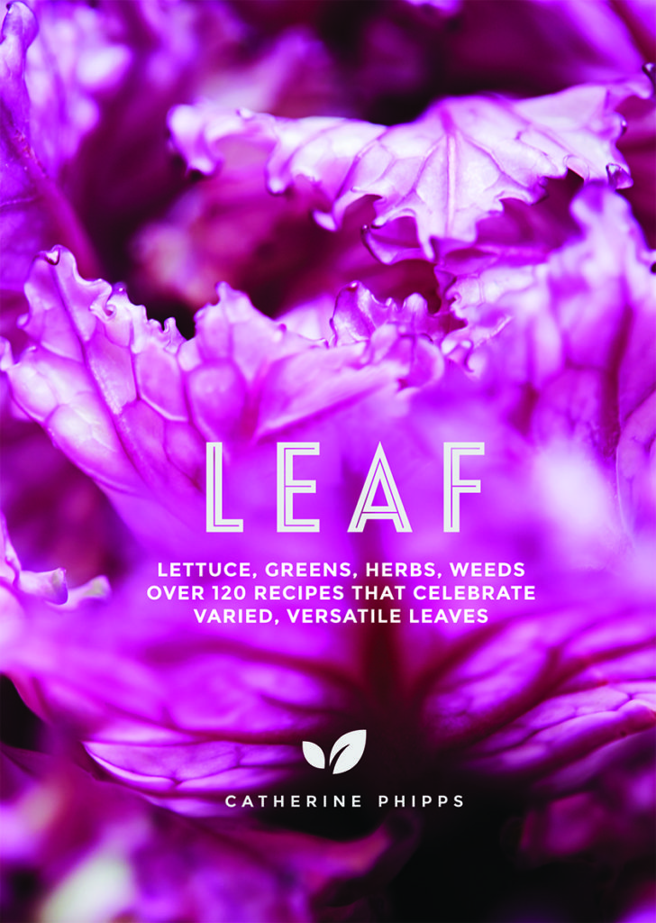 Book cover - title is Leaf