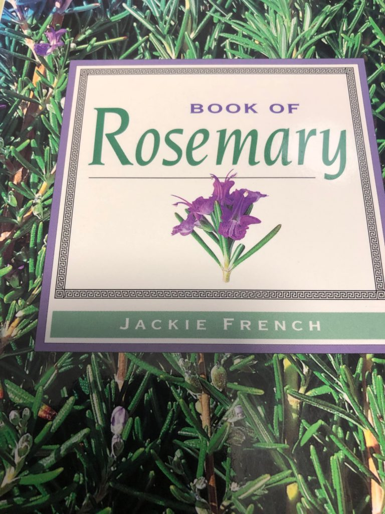 book cover Book of Rosemary by Jackie French